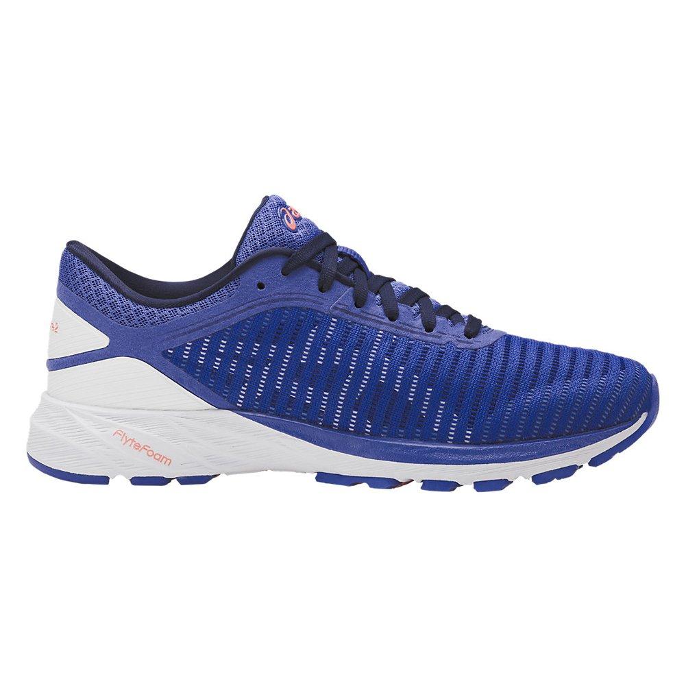 ASICS Women's Dynaflyte 2 Running Shoe B073RSXB52 6.5 B(M) US|Blue/White