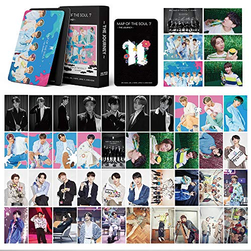 BTS LOMO Cards 54Pcs BTS Map of the soul 7 journey Card New album Card BANTAN Boys BTS Postcards Map 7 Stay Glod Cards