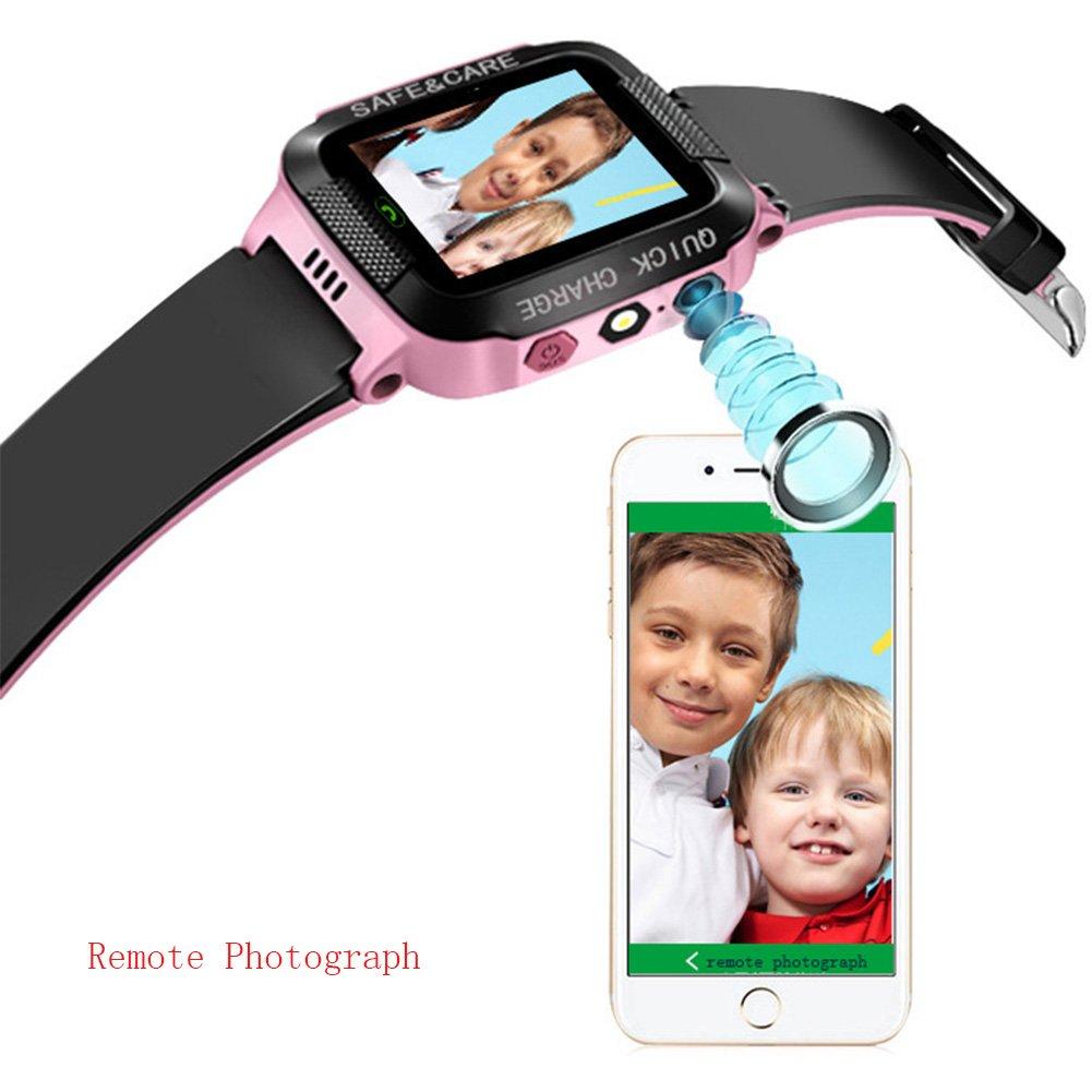 Tounique - Reloj Inteligente para niños con 2 vías de ...