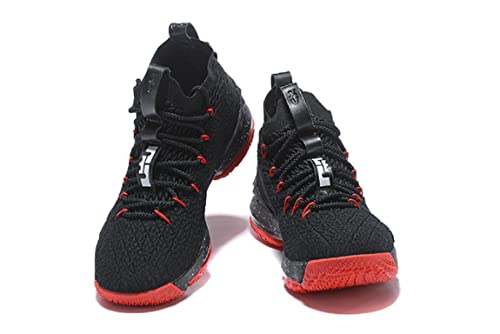 b08fc167b39d6 2018 Nike Lebron XV Black Red - Basketball Shoes