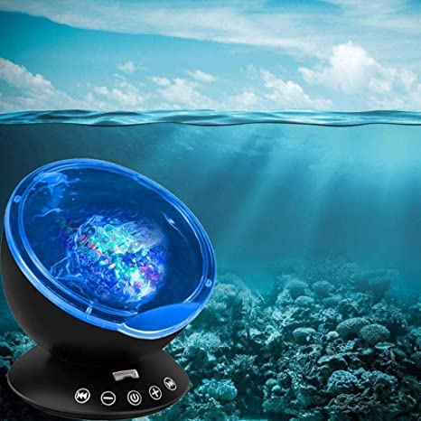 Ocean Wave LED Starry Sky Aurora Night Light,proyector remoto ...