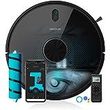 Cecotec Robot Aspirador y Fregasuelos Conga 5490. Tecnología láser, 10.000 Pa, Cepillo Jalisco, Room Plan,App, Cepillo…