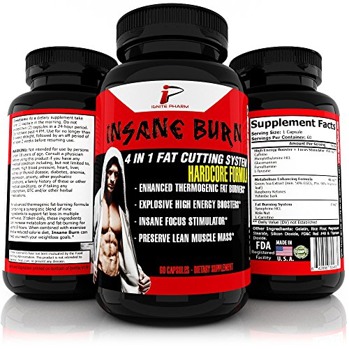 Insane Burn Thermogenic Fat-Bu...