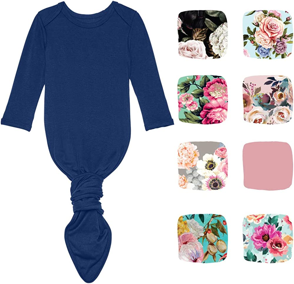 Viscose from Bamboo Infant Layette Swaddle Wear Posh Peanut Newborn Baby Soft Gown for Girls