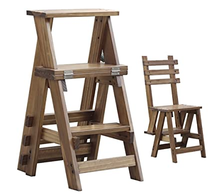 Stupendous Amazon Com Solid Wood Step Stool 3 Step Climbing High Forskolin Free Trial Chair Design Images Forskolin Free Trialorg