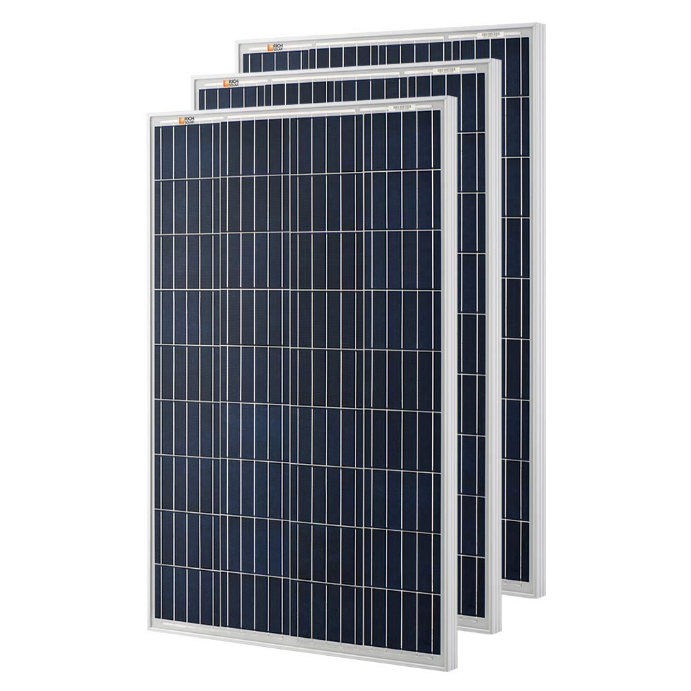Amazon.com: Richsolar 100 Watt Polycrystalline 100W 12V ...