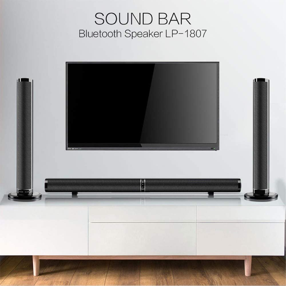 50W Detachable Wireless Bluetooth Soundbar Bass Speaker 3D Surround HiFi Sound bar Stereo Bass Subwoofer Home Theatre for TV PC 61TP4F8CLMLSL1000_