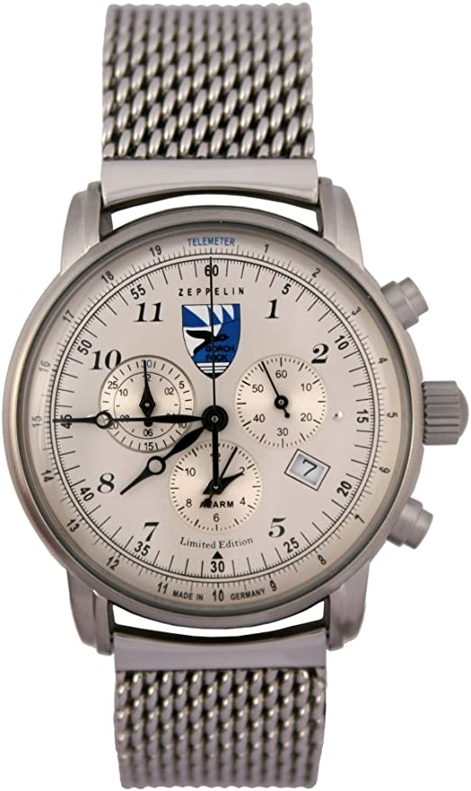 Zeppelin Herren Quarz Armbanduhr Limited Edition Gorch Fock Amazon De Uhren