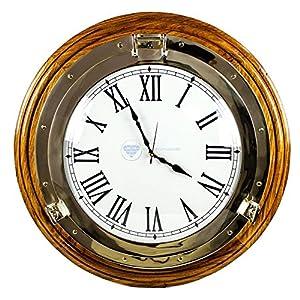 61TP4ew%2BjlL._SS300_ Nautical Themed Clocks