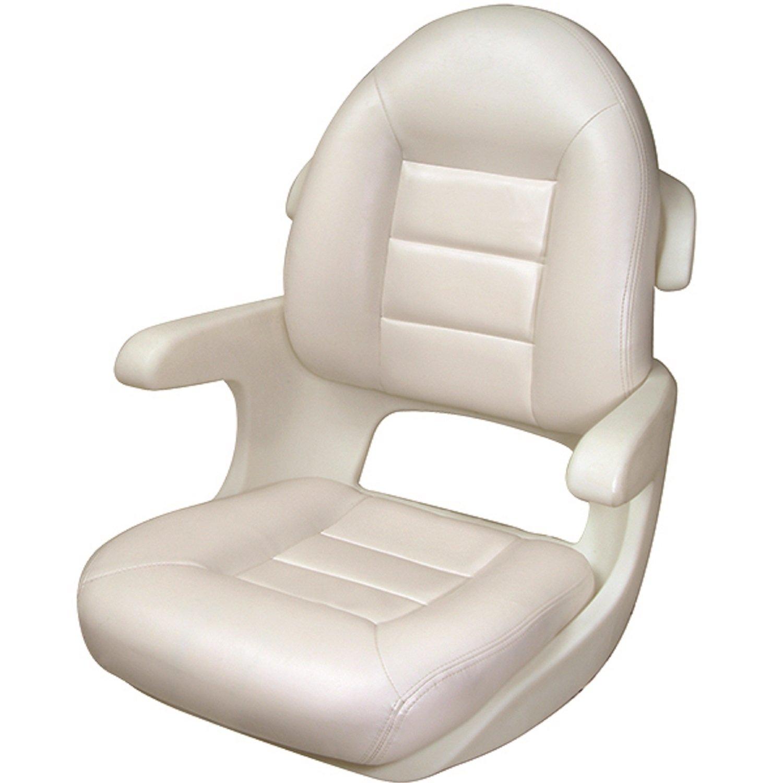 Tempress Elite High Back Helm Seat, White by Tempress