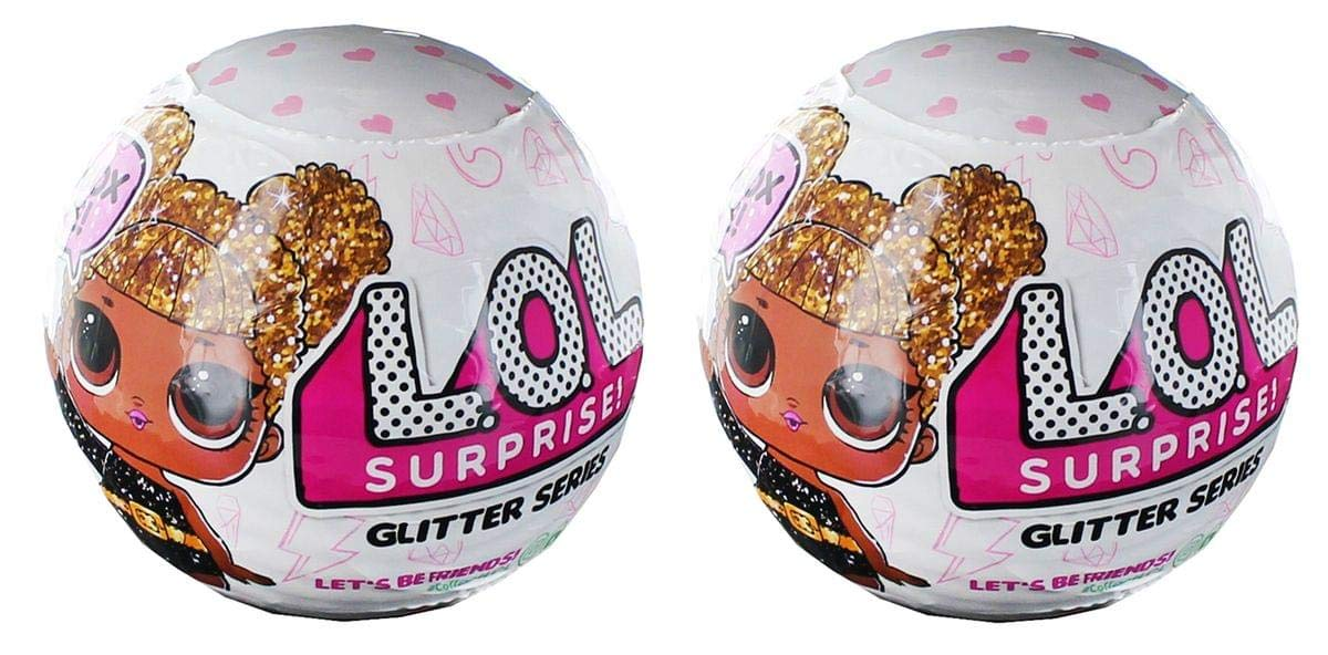 LOL Surprise! Glitter Series Doll Lot of 2