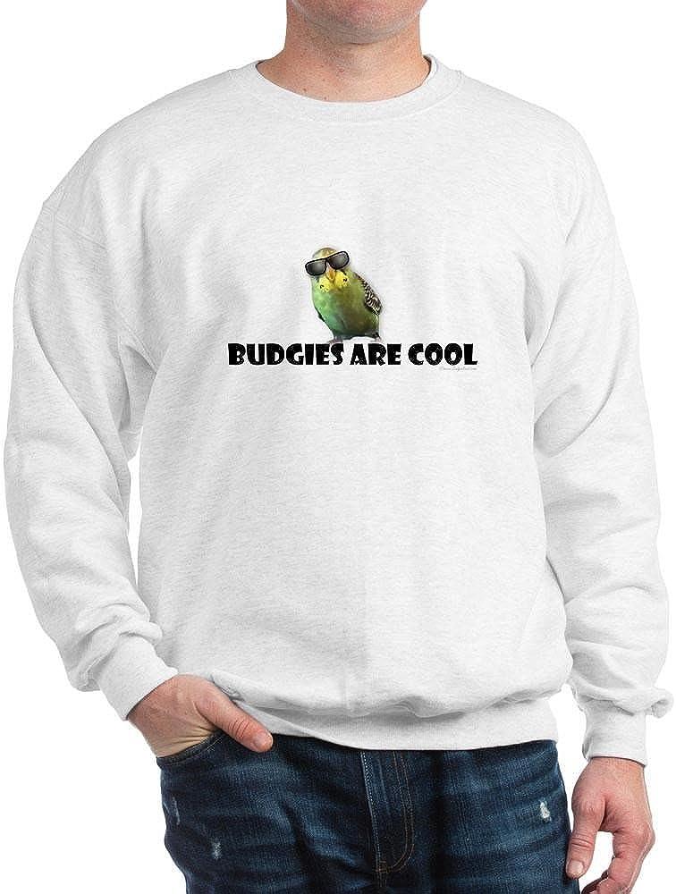 CafePress Classic Crew Neck Sweatshirt Budgies are Cool
