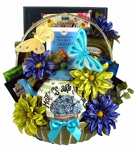 Gift Basket Village To A Tea-Riffic Mom, Teapot Gift Basket, 8 Pound by Gift Basket Village