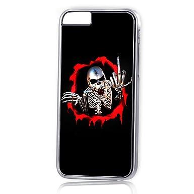 para iphone 6/iPhone 6s) plata carcasa teléfono móvil ...