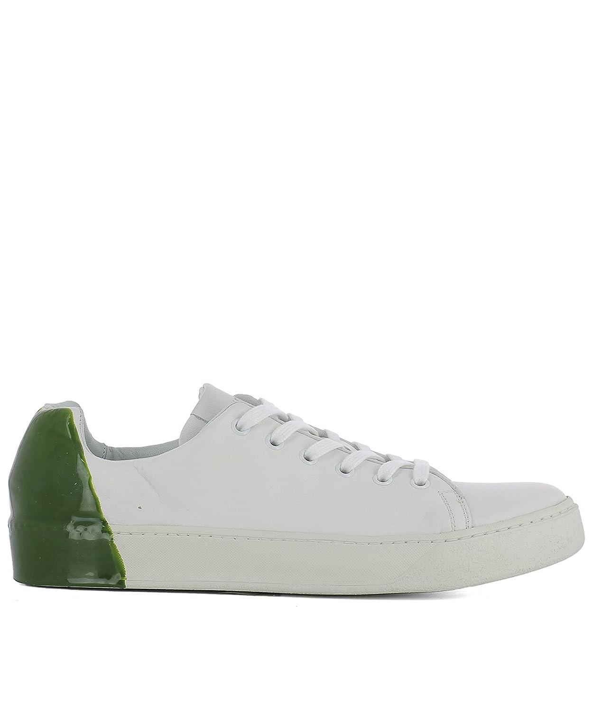 Premiata メンズ 31036POLOBIANCOVERDE ホワイト/グリーン 革 運動靴 B07DX6XL92