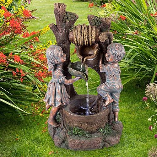 Pure Garden 50-201 Well Water Fountain (Fountain Treasure Garden)