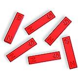 hand2mind Ceramic Bar Magnets, 1.5 Inch (Pack of 6)
