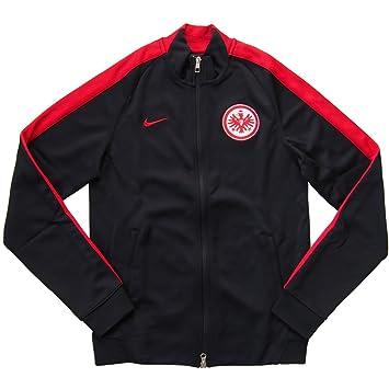 Nike Herren Jacke N98 Eintracht Frankfurt Authentic Track, Schwarz, XL,  666558-010