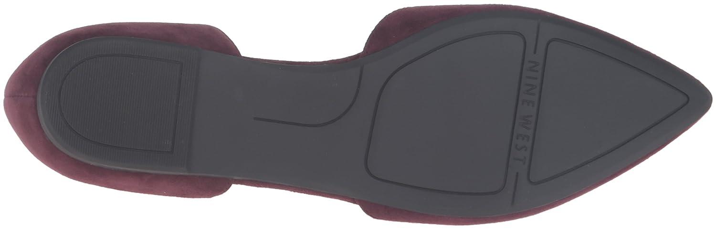 Nine West Women's B01EWOBZNA Starship Suede Pointed-Toe Flat B01EWOBZNA Women's 10 B(M) US Wine 3f2b2c