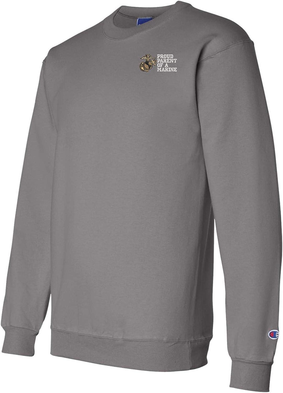 Marine Corps Sweatshirt MilitaryBest Proud Parent of a Marine U.S