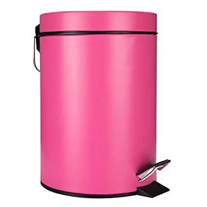Excellent Amazon.com: GiniHome Small Trash Can for Kitchen & Bathroom  IR25