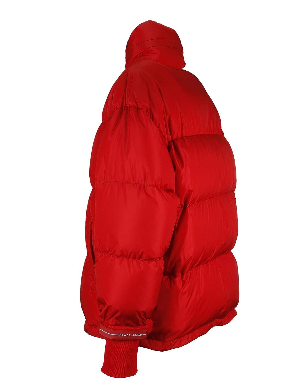 Prada Linea Rossa Femme 291400Q04F0011 Rouge Polyamide Doudoune  Amazon.fr   Vêtements et accessoires 514fcd51e2b