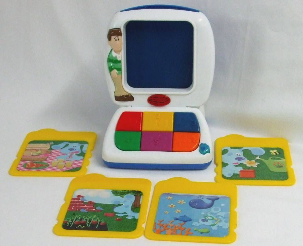 amazon com blue u0027s clues learning lessons computer toys u0026 games