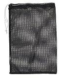 Champion Sports Mesh Equipment Bag (Black, 12 x 18-Inch)