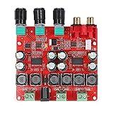 WINGONEER TPA3118 2.1 Digital Power Amplifier Board, 30W+30W+60W (Bass) BTL 60W Binaural Stereo Audio Amplifier, Computer Amp Stereo for Home Theater & Active Speaker Applications