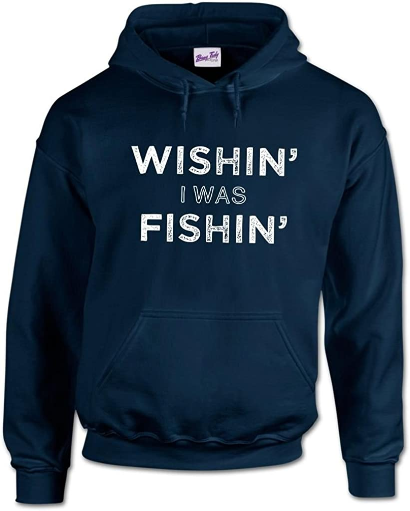 Bang Tidy Clothing Mens Fishing Hoodie Fishing Apparel Master Baiter Gifts for Fishermen