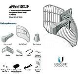 Ubiquiti AG-2G16-HP AirGrid M2-HP 16dBi Grid 2.4GHz 24vdc POE