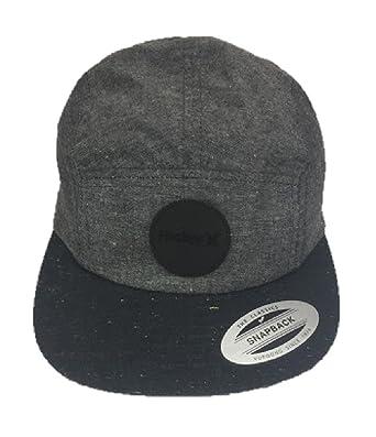 a86f6912807 Hurley Classic Snapback Cap Grey One Size  Amazon.co.uk  Clothing
