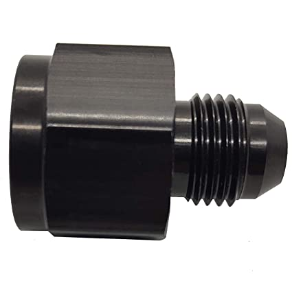 Reducer Fitting 6AN Female to 8AN Male Flare Fuel Line Aluminum 6 AN to 8 AN Reducing Hose Adapters