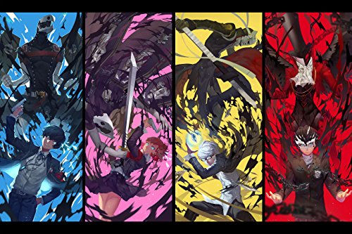 Iron Posters Persona 5 - XL Wall Art - 24x36 Inches