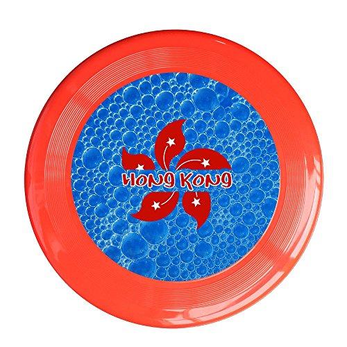 YYHU - Plastic Hong Kong Flying Discs - Red