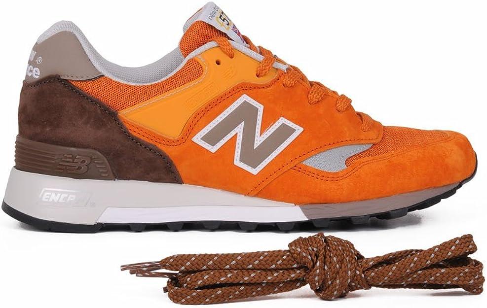 new balance arancioni uomo