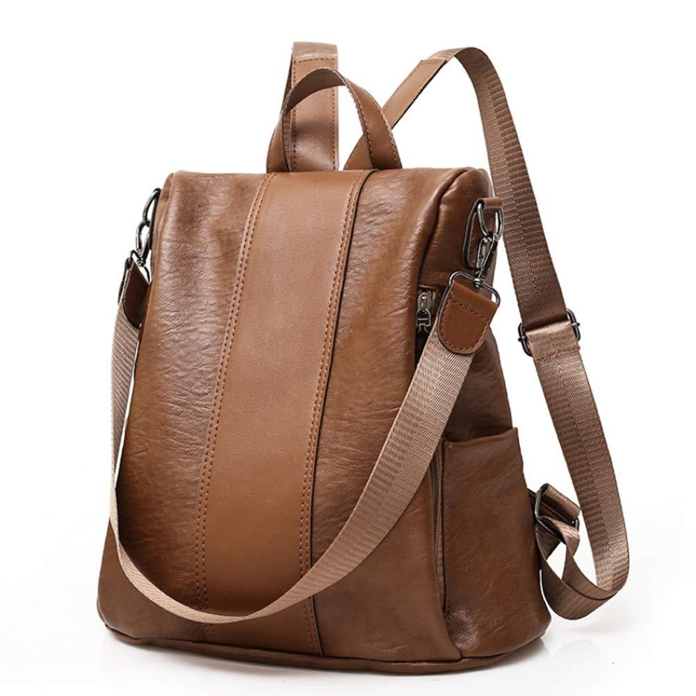 2 coloris Sac /à dos femme en PU pour voyage faire des achats.Sac /à dos /à la mode pour les /étudiants et les femmes. /école Brown
