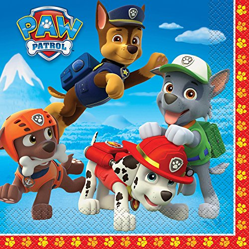 PAW Patrol Party Napkins, 16ct