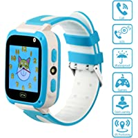 CMKJ - Kids Smartwatch with Games/LBS,GSM,Waterproof,SOS,Remote Camera&Voice