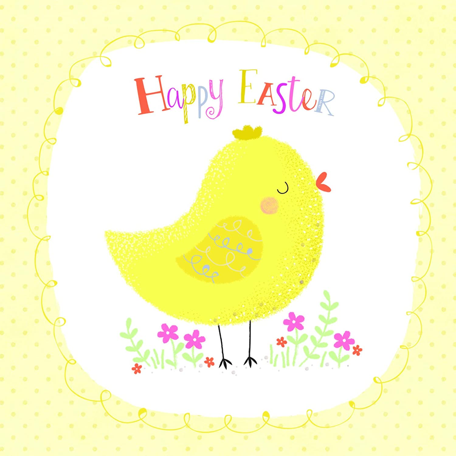 Cute Chick Easter Card Pack