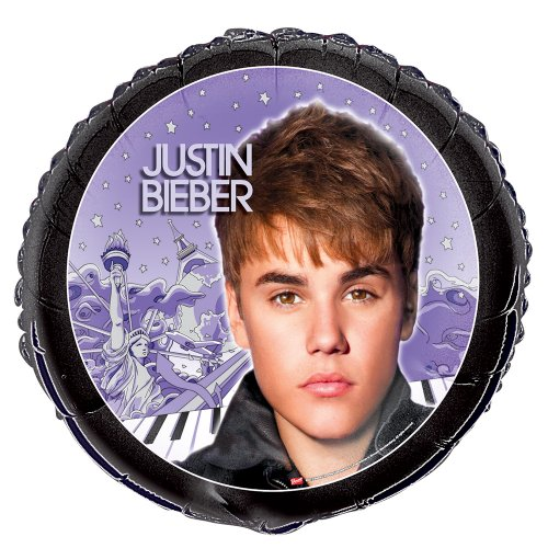 "18"" Foil Justin Bieber Balloon"