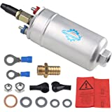 WATERWICH High Pressure Inline Fuel Injection Pump 12V Universal Fuel Pump 300LPH Replaces bosch 044 fuel pump 0580254044