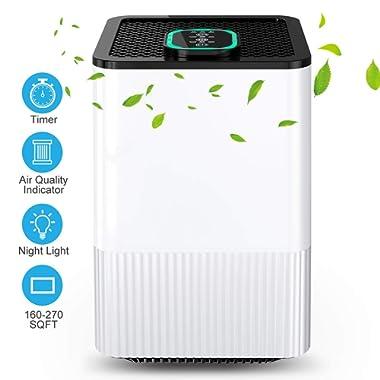 Nobebird A8 hepa-Filter-air-purifiers White