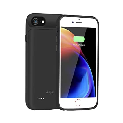 the latest 0017d 7bcdd Anjoron Slim Charger Case for Apple iPhone 8 iPhone 7 3000mAh Rechargeable  External Backup Battery Pack Charging Case for iPhone 6 6s 4.7 inch ...