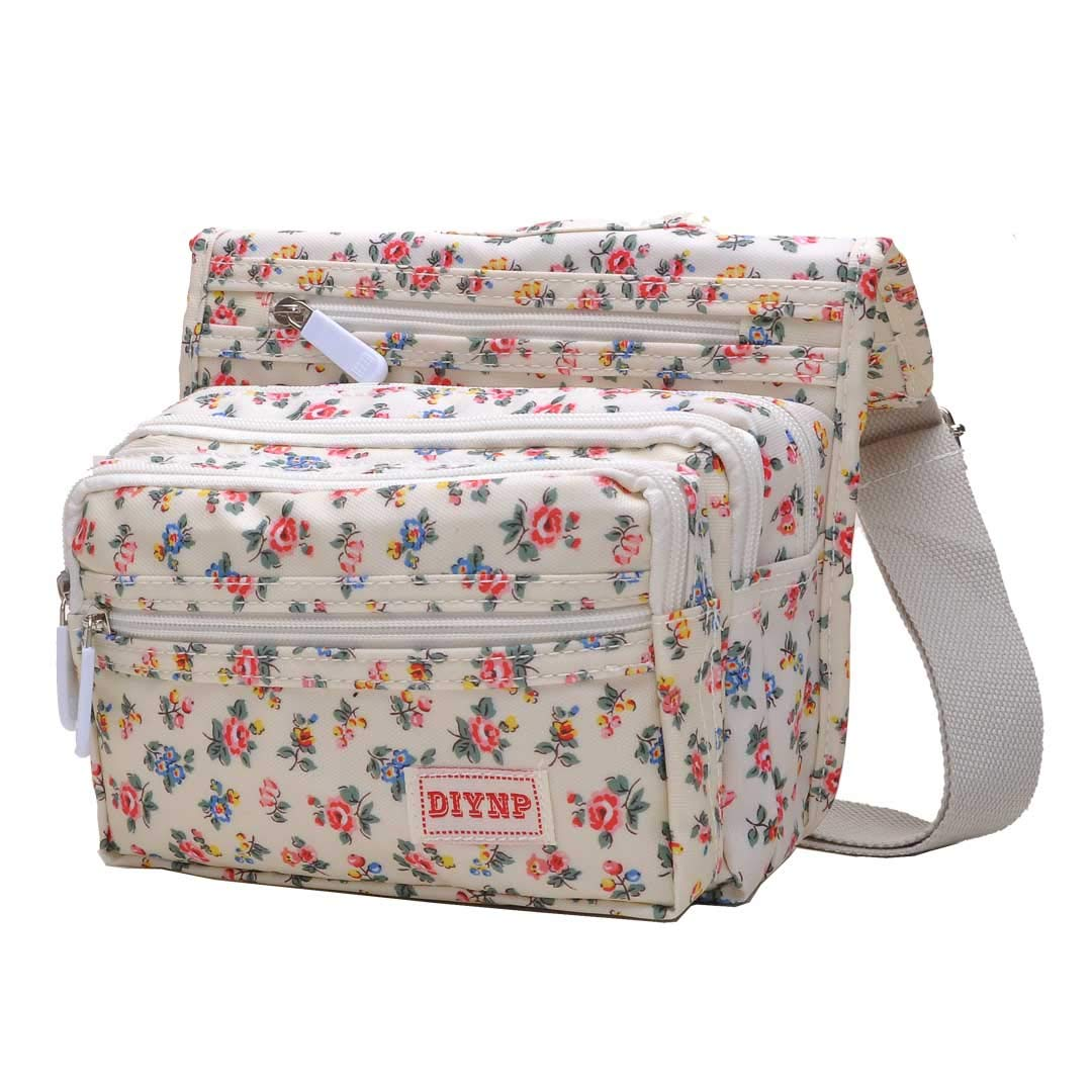 4df7e469d Ladies Nylon Multi-Pocket Crossbody Bags for Women Fashion ...