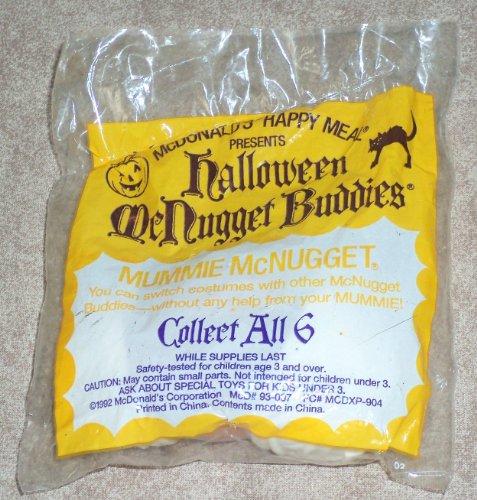 McDonalds - Halloween McNugget Buddies - MUMMIE McNUGGET - 1992]()