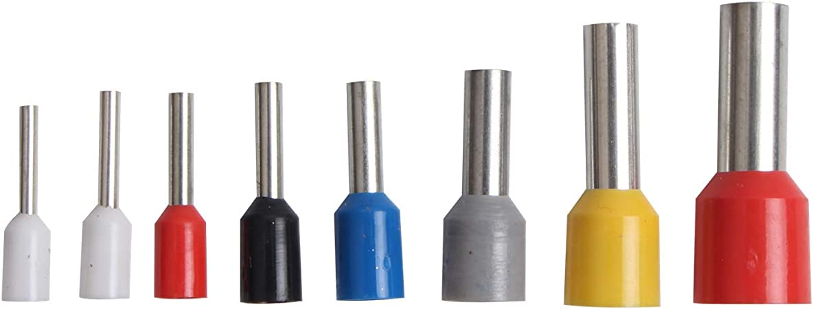zhoul Connettori terminali a crimpare elettrici isolati del cavo di estremit/à del connettore del cavo termorestringente 0,5-1,5 mm/²