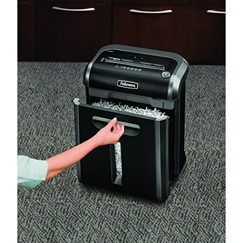 Fellowes Powershred 79Ci 100% Jam Proof Medium, Duty Cross, Cut Shredder, 16 Sheet Capacity, Black/Dark Silver