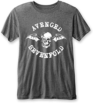 Rock Off Avenged Sevenfold A7X Burnout White Text Oficial ...