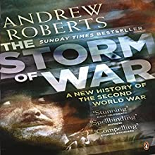 The Storm of War Audiobook by Andrew Roberts Narrated by Christian Rodska